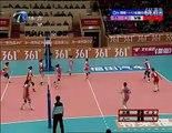 天津vs八一(16回合) Chinese Women Volleyball TianJin vs Army (16 swithes rally)