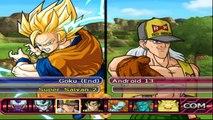Dragon Ball Z Budokai Tenkachi 3 GOKU SSJ2 VS BROLY SSJ