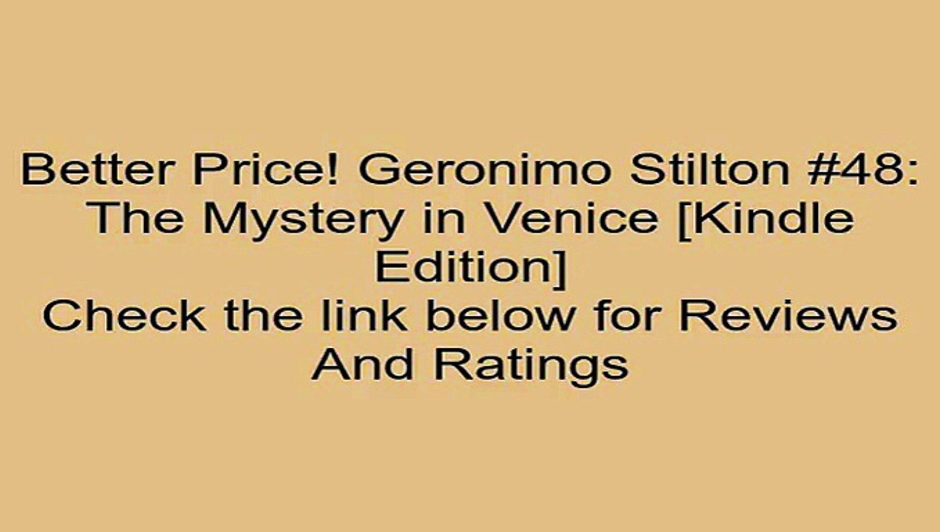 The Mystery in Venice Geronimo Stilton #48