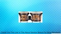 Meinl Percussion FWB190LB Free Ride Series Wood Bongos, Leopard Burl Finish Review