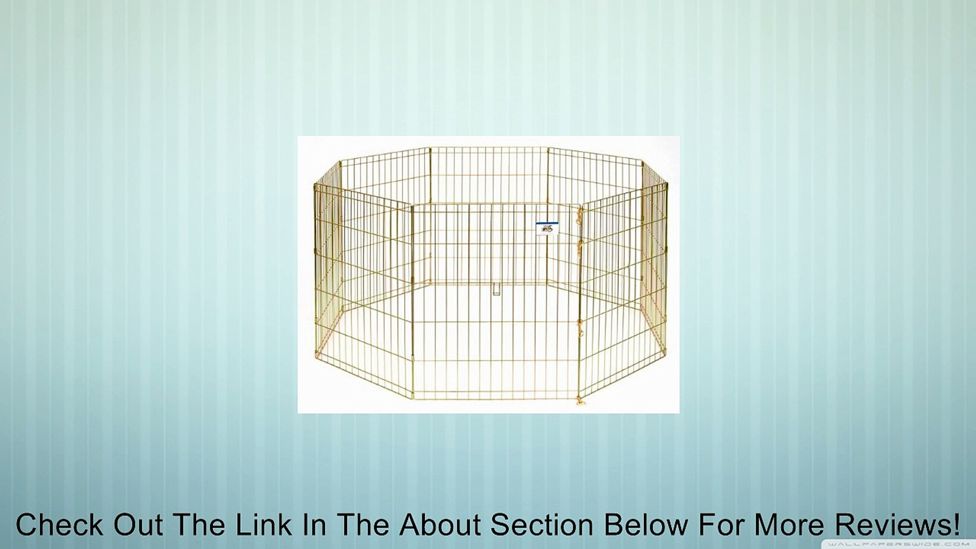 Little Giant Pet Lodge 30 Inch High Metal Pet Exercise Pen Review