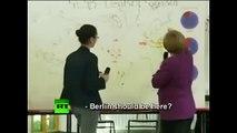 Angela Merkel devrait reprendre des cours de géographie
