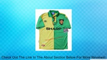 Rare Retro 93-94 Manchester United utd Away Soccer Jersey Eric Cantona #7 Football Shirt Review