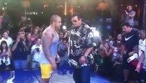 Démonstration de MMA par Steven Seagal