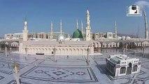 Amazing Drone Footage of Prophet Muhammad's Mosque (Masjid e Nabawi) Sallallahu Alayhi Wasallam