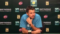 BNP Paribas Open  Stanislas Wawrinka Fourth Round Press Conference