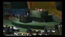 Ouverture de la 59ème Session de la Commission de la Condition de la Femme de l'ONU par Pascale Boistard, secrétaire d'Etat chargée des Droits des femmes