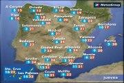 Previsión del tiempo para este jueves 12 de marzo