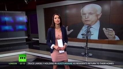 """""""Rassistischer Drecksack"""" - Abby Martin knüpft sich John McCain vor"""