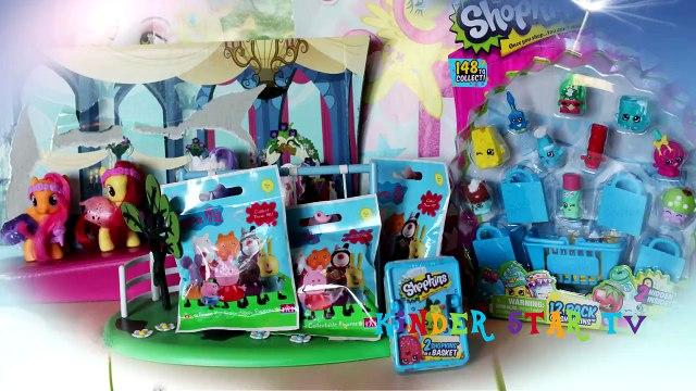 Disney Frozen Queen Elsa, Big Set Shopkins, Peppa Pig Surpise Toys