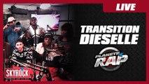 """Transition feat Dieselle """"T'es bête, bête, bête"""" en live dans Planète Rap !"""