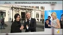 Nicola Morra (M5S) a l'Aria che tira : Questo è il #recall che vogliamo - MoVimento 5 Stelle
