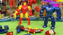 Iron Man vs. Iron Monger - Mash Pack - Super Hero Mashers - Marvel - Hasbro - A9530 A8159 - Recenzja