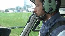 """Sécurité en hélicoptère: """"On a des angles morts où le pilote ne peut pas voir"""""""