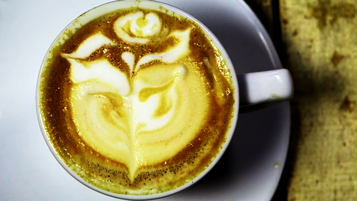Latte Art / How to make a Rose