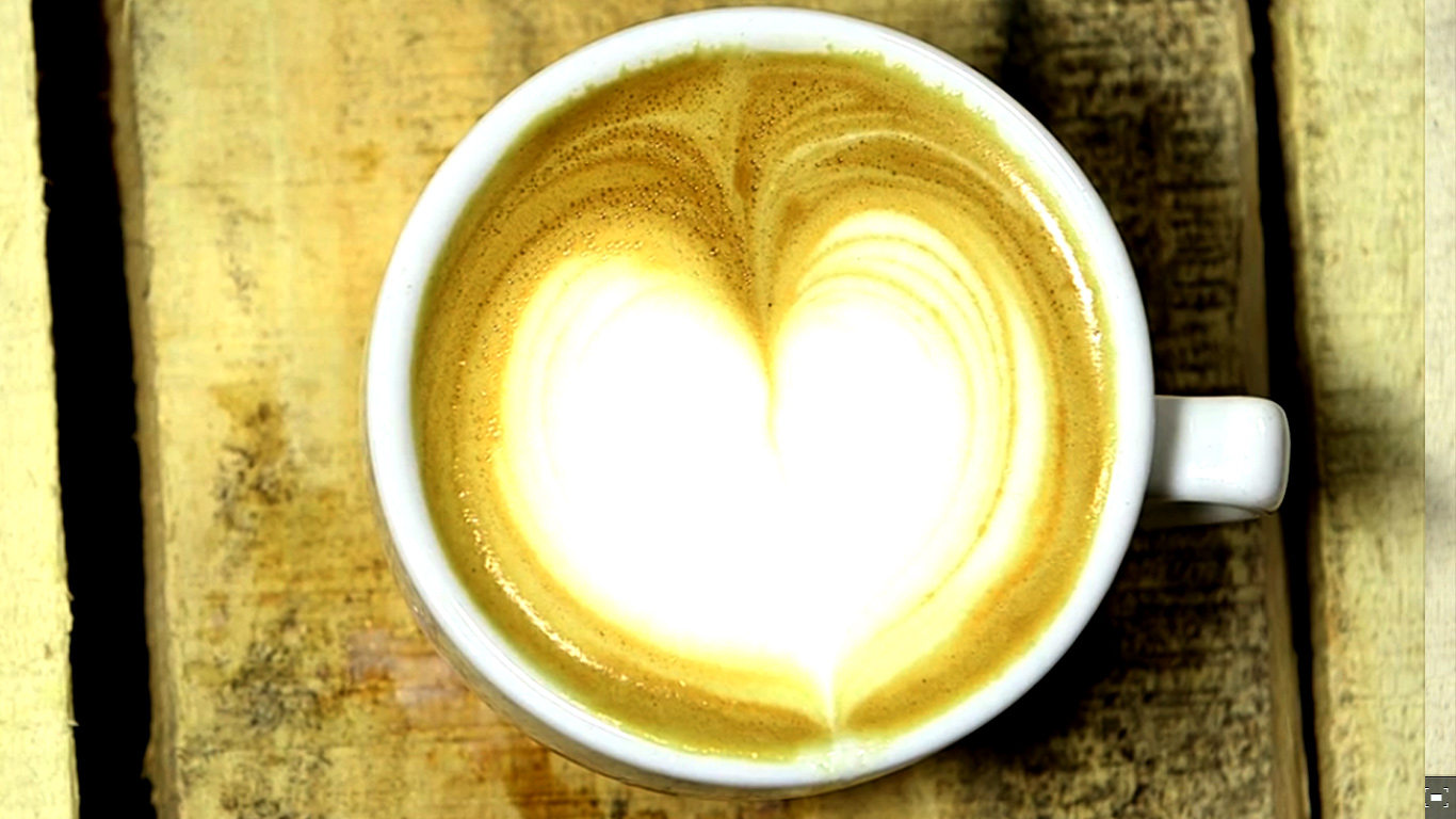 Latte Art / How to make a Heart