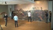 Démontage d'une œuvre monumentale au musée de Flandre à Cassel