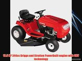 MTD 13BC762F000 Yard Machines 10.5 HP Riding Lawn Mower 38-Inch