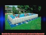 Intex 32 foot x 16 foot x 52 foot Rectangular Ultra Frame Pool