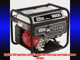 NorthStar Portable Generator - 5500 Surge Watts 4500 Rated Watts EPA and CARB-Compliant
