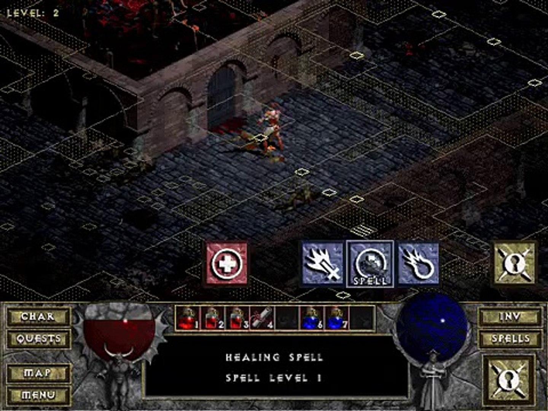 Diablo 1 - Tuer le Boucher