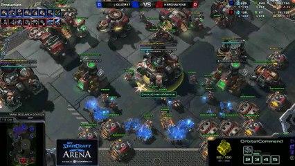 ret (Z) vs. HeRoMaRinE (T) - MyStarCraft Arena #6 powered by Dailymotion StarCraft II Heart of the Swarm