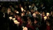 """Chrétiens d'Orient : une chorale d'enfants chante """"Last Christmas"""" de Wham!"""