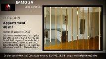 A louer - Appartement - Ixelles - Ixelles (Bascule) (Bascule) - Ixelles (Bascule) (1050) - 40m²