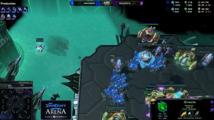 forGG (T) vs. Majestic (P) - MyStarCraft Arena #6 powered by Dailymotion StarCraft II Heart of the Swarm