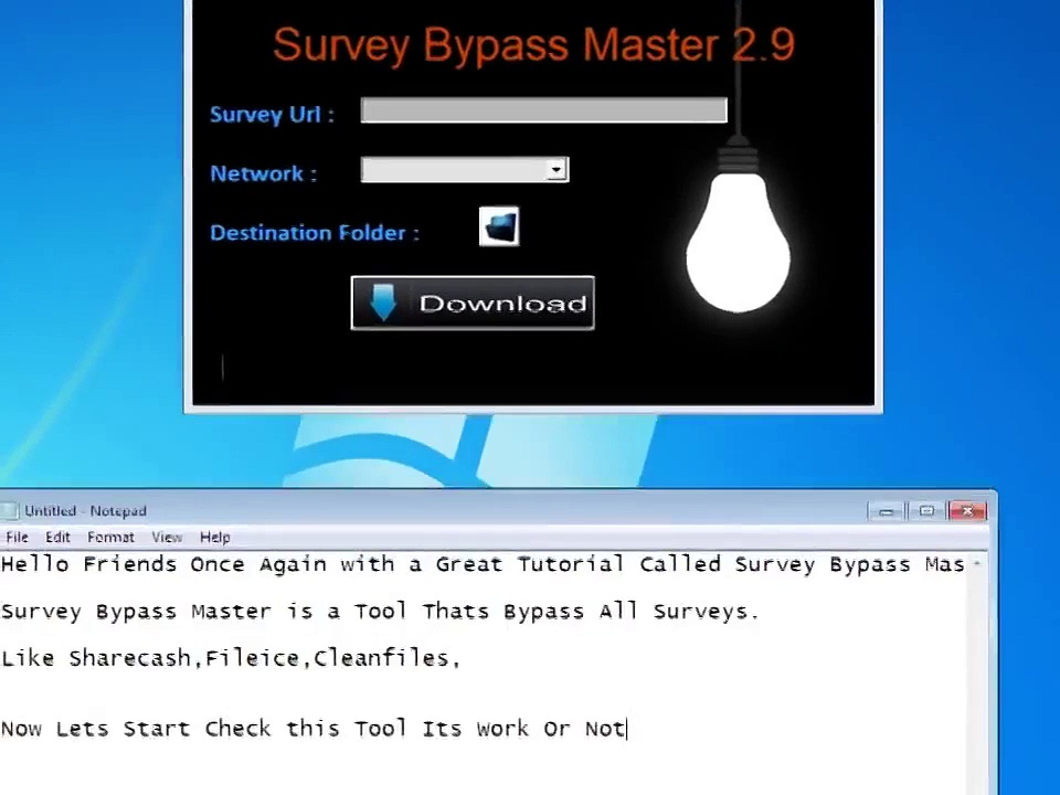 [NEW] Latest Survey Bypassing Software – No password survey or virus.