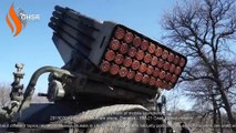20150309 posted - unknown place, Donetsk - BM-21 Grad 'Corsa division'