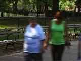 Michaël Attias à Tompkins Square Park NYC