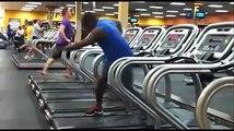 WTF ? Il tape une danse sur les tapis au D'Gym !