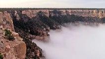 Beau voyage au dessus des nuages du Grand Canyon ! Magnifique !