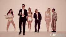 Différences entre Blurred Lines et Got to Give it Up de Marvin Gaye