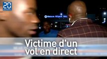 Un journaliste télé victime de vol en direct