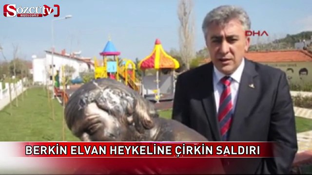 Berkin Elvan heykeline çirkin saldırı