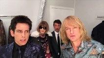 Anna Wintour, Derek Zoolander et Hansel en backstage chez Valentino