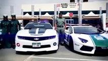 Des voitures de police à Dubaï / Police cars in Dubai