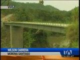 Puente sobre el río  Namangoza será inaugrado a finales de mes