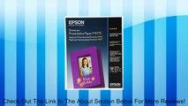 Epson Premium Presentation Paper MATTE (8.5x11 Inches, 50 Sheets) (S041257) Review