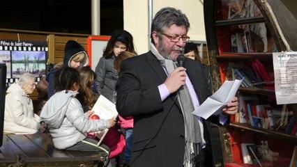 4 Inauguration du bato-livre, de l'expo Jaurès, et de l'école .Quelle journée !!