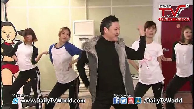 PSY's Dance Practice - Unplugged