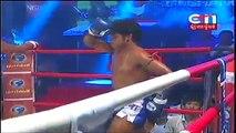 Kun Khmer Vs Muay Thai - Keo Rumchong (Khmer) Vs Teeraphong (Thai) - CTN Boxing
