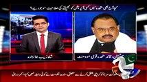 Shahzaib Khanzada Ke Pakistan Aney Ke Sawal Per Altaf Hussain Ka Gol Mol Sa Jawab
