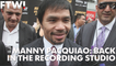 Manny Pacquiao on his new song