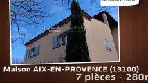 A vendre - maison - AIX-EN-PROVENCE (13100) - 7 pièces - 280m²