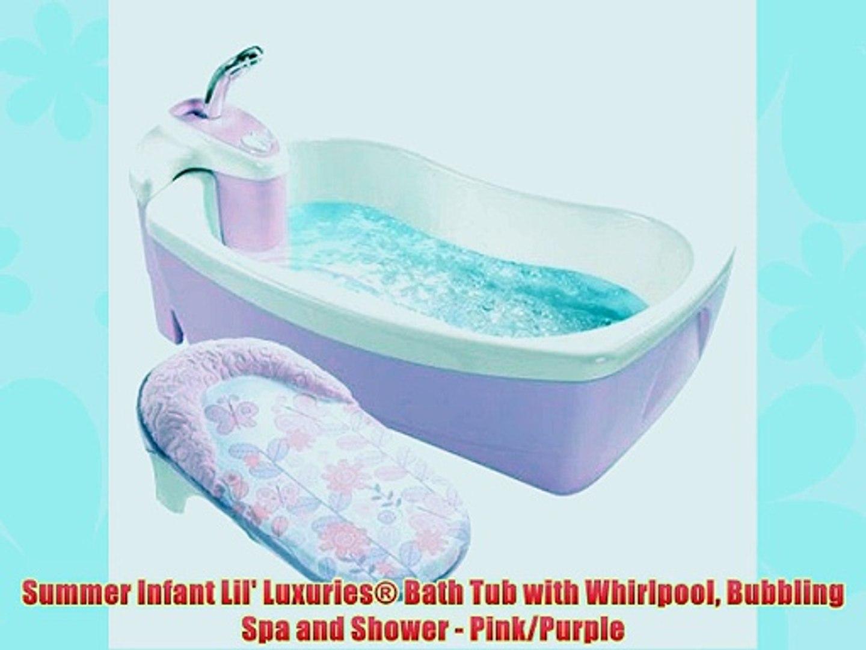 Magic Bath Baby Jacuzzi.Summer Infant Lil Luxuries Bath Tub With Whirlpool