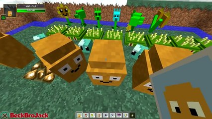 minecraft mods plants vs zombies plants and zombies plants vs zombies minecraft mod showcase