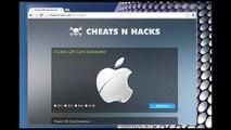 iTunes Hack, Cheats Gift Card Code Generator - iTunes Hack, Cheats Générateur de Code 2014-2015